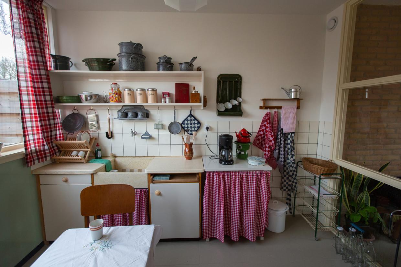 Een klassieke Piet Zwart-Bruynzeelkeuken.