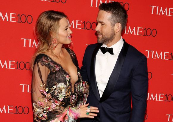Blake Lively en Ryan Reynolds.