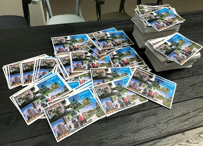 De ansichtkaart die inwoners van de gemeente Stichtse Vecht de afgelopen weken ontvingen.