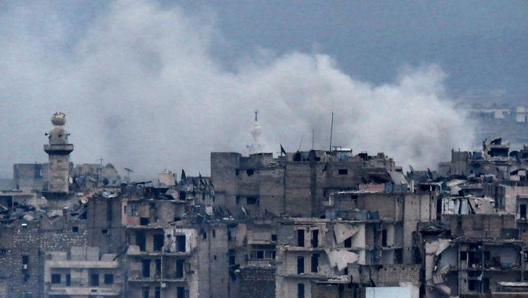 Aleppo, 14 december 2016 Beeld afp