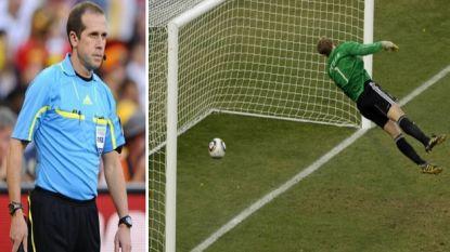 Lijnrechter van morgen tekende voor dé scheidsrechterlijke dwaling op WK 2010 met Lampard in hoofdrol