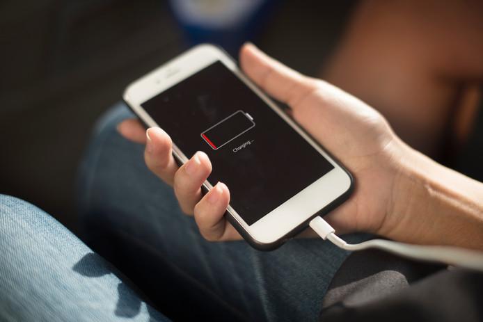 Telefoon opladen met powerbank