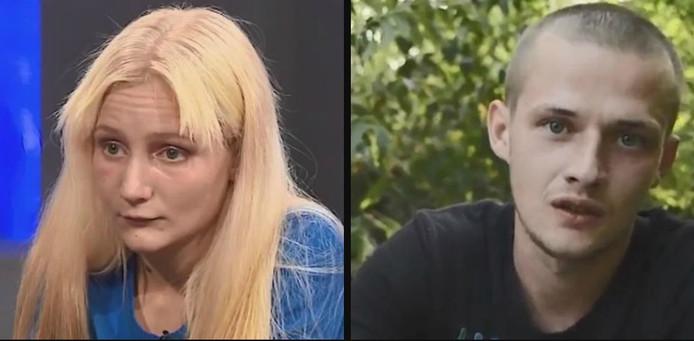 Ouders Bozhena Synychka (20) en Volodymyr Zaitsev (25).