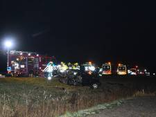 Twee gewonden bij ernstig ongeval op A58 bij Ritthem