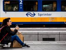 Treinverkeer van en naar Amsterdam Centraal lag plat