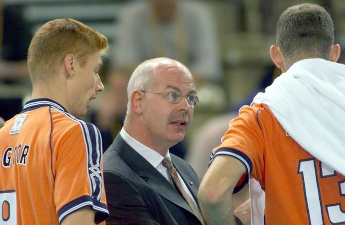 Gerbrands als volleybal bondscoach in 2000