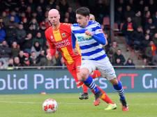 De Graafschap zegt contracten van vier spelers formeel op; club wil optie Vet lichten