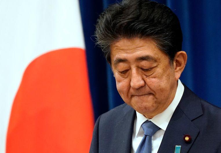Shinzo Abe. Beeld Hollandse Hoogte / EPA
