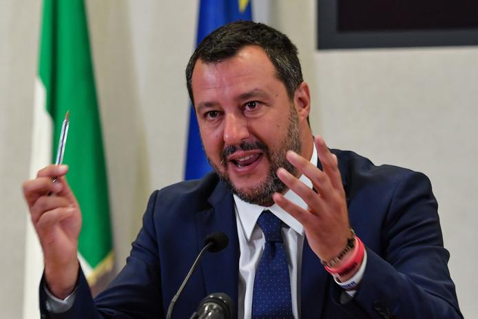 Matteo Salvini, le ministre italien de l'Intérieur.
