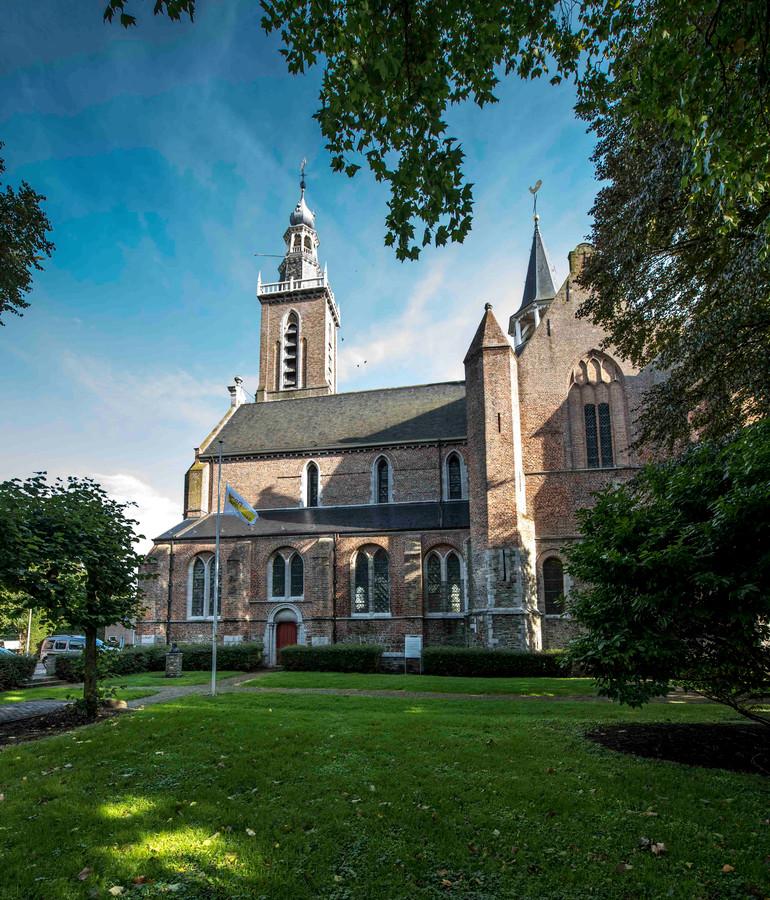 De Sint Baafskerk in Aardenburg.
