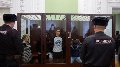 Medeplichtigen van aanslag op metro Sint-Petersburg krijgen celstraffen van 19 jaar tot levenslang