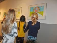Expositie van de jongste kunstenaars van Waspik
