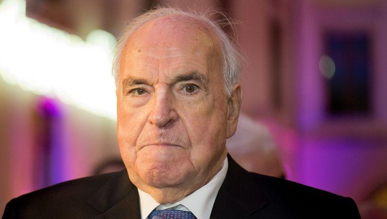 Helmut Kohl in december 2014.