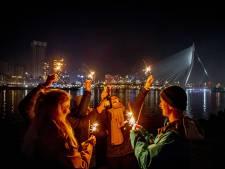 Jaarwisseling levert Rotterdam een schadepost van tonnen op, ondanks vuurwerkverbod