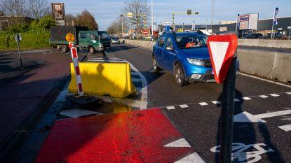 AWV neemt proefopstelling Antwerpsesteenweg onder de loep: oversteekplaats Duwijck en aanpassing chicanes op tekentafel