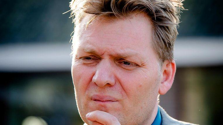 Jan Hamming, nu nog burgemeester van Heusden. Beeld null