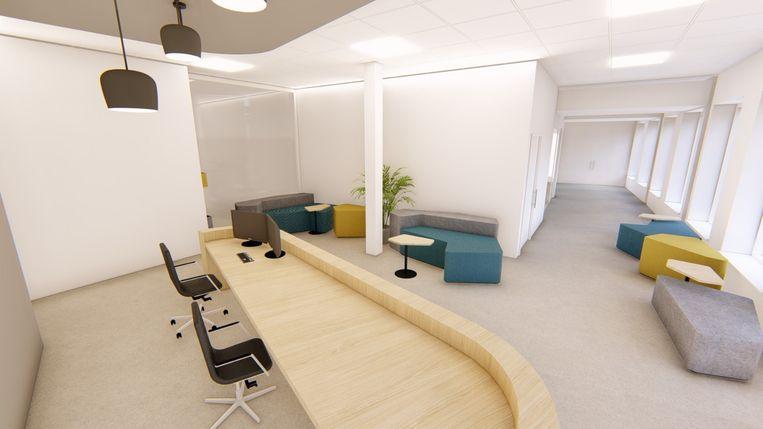 De toekomstbeelden van het nieuwe pijncentrum in campus Rumst van het AZ Rivierenland