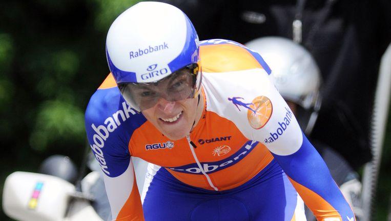 Robert Gesink. Beeld AFP