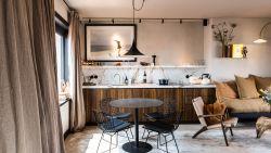 Muffe studio aan zee wordt prachtige penthouse met riante terrassen