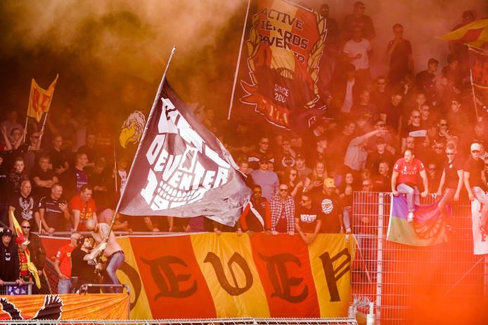 De supporters van Go Ahead Eagles zien hun club op 9 augustus voor de eerste keer in actie.