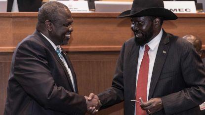Zuid-Soedanese regering en rebellen tekenen na vijf jaar burgeroorlog vredesakkoord