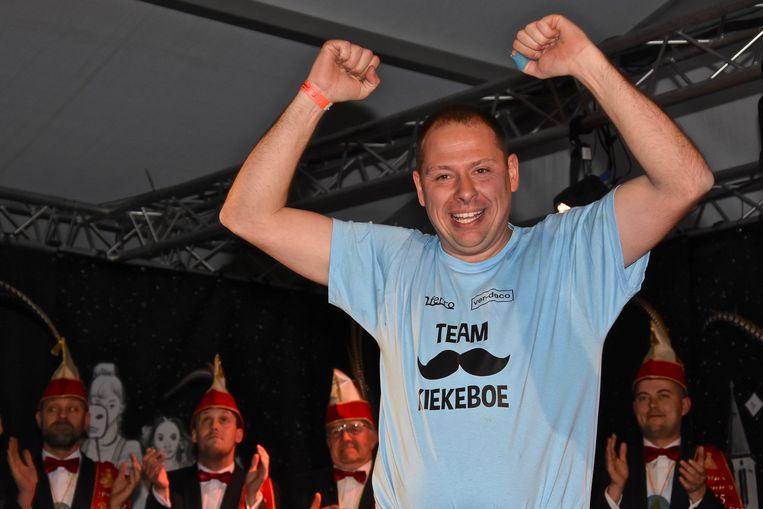Verkiezing Prins Carnaval Gullegem - Davy Himpe mocht juichen