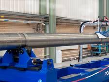 Super-lasmachine bij Schelde Exotech