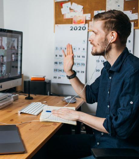 De thuiswerkplek van de toekomst: 'Denk eraan wat collega's achter je zien als je in beeld bent'