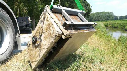 Jonge magneetvissers vinden gestolen bankkluis in Demer