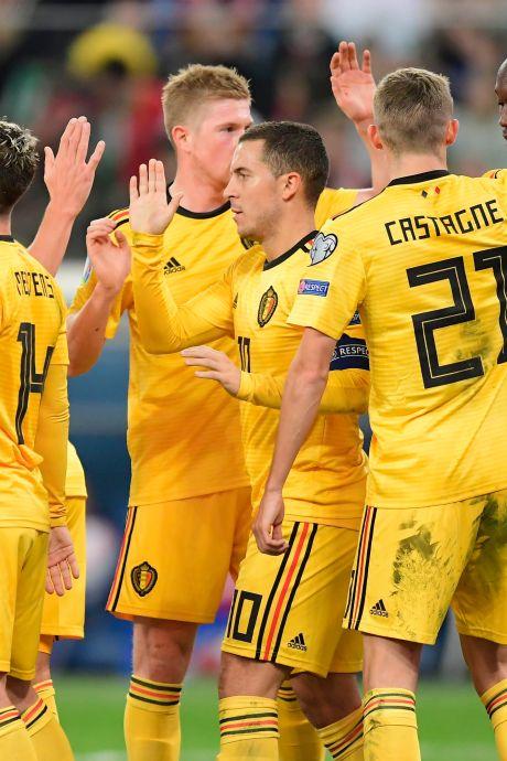 Pourquoi la Belgique connaît déjà quasiment son groupe à l'Euro 2020