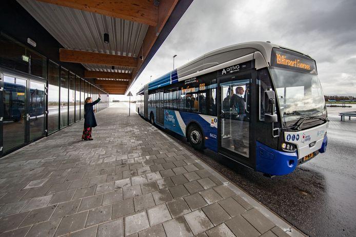 Lelystad heeft al een elektrische bus, de provincie Flevoland hoopt dat ook de waterstofbus daar binnen een paar jaar verschijnt.