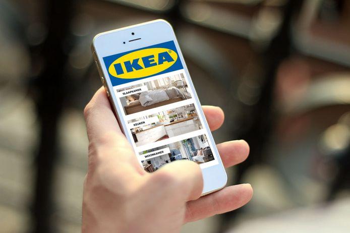 Met de nieuwe IKEA-app kan je straks je inboedel bij elkaar kopen vanuit je luie stoel.