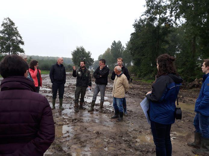 Deze zaterdag gaf Brabants Landschap een rondleiding in de nieuwe natuur in aanleg rondom Almkerk.