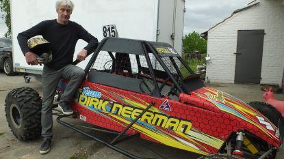 """Autocrosser Dirk Neerman (57) neemt weer plaats achter het stuur: """"Velen verklaren mij zot, maar ik doe het te graag"""""""