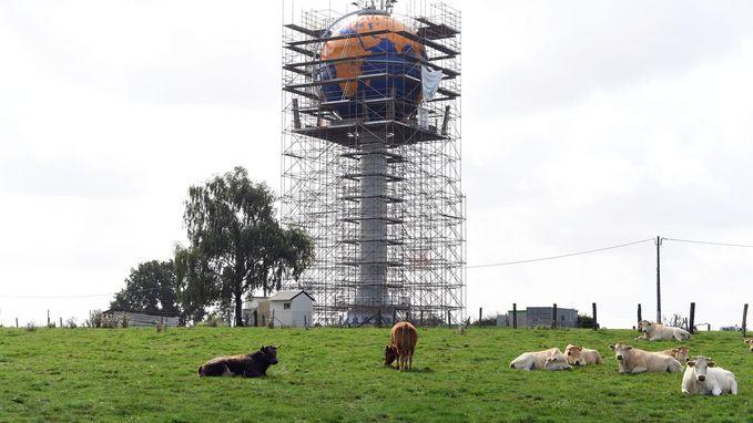 Schilderwerken watertoren volledig klaar