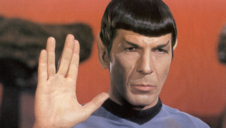 Leonard Nimoy als Mr. Spock.