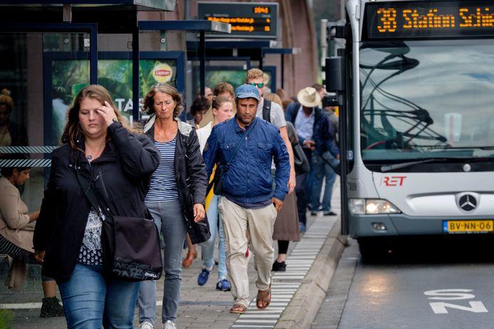 Station Schiedam Centrum staat bekend als een ov-knooppunt.