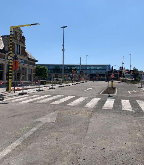 Druk kruispunt Katelijnestraat-Gentpoortvest gaat opnieuw open, fietsers kunnen al door
