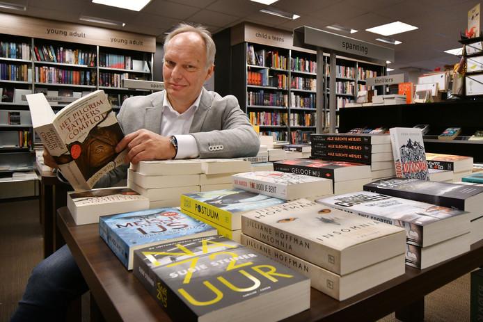 Kees Schafrat van boekhandel Broekhuis.