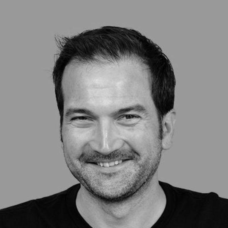 Biogeochemicus Helge Niemann van het NIOZ op Texel. Beeld