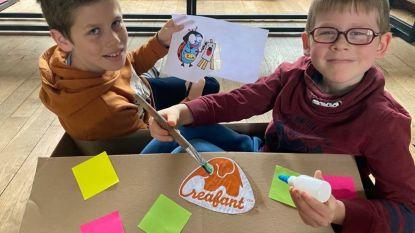 Creafant bedacht 'creadoos' en kleinschalige workshops voor kinderen die komende weken thuis zitten