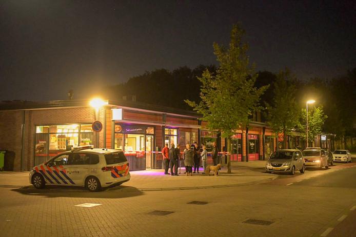 Op cafetaria de Tempel in Eindhoven is maandagavond een overval gepleegd.