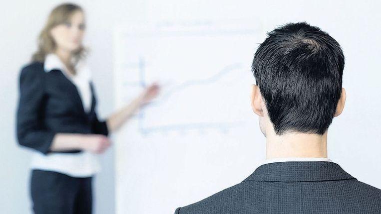 In Nederland is slechts 12,5 procent van de managers vrouw. Beeld anp