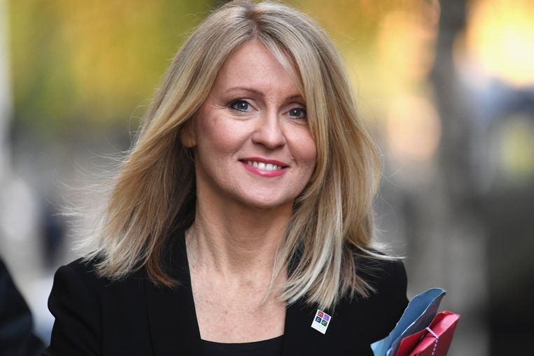 Esther McVey. Beeld Getty Images