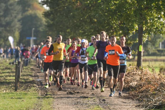 Het sportieve evenement Devil's Trail trok vorig jaar ook honderden deelnemers.
