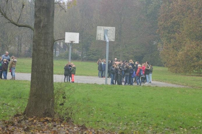 Brandmelding basisschool Het Lover in Asten