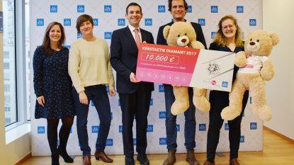 SOS Kinderdorpen krijgt 10.000 euro van diamant