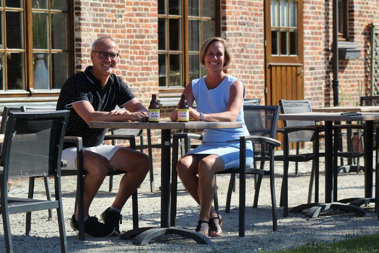 Veilig op afstand, bij 't Gaverhopke kan je deze zomer een terrasje doen.