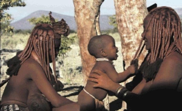 'Babies' toont baby's van Namibië tot Japan. (Trouw) Beeld
