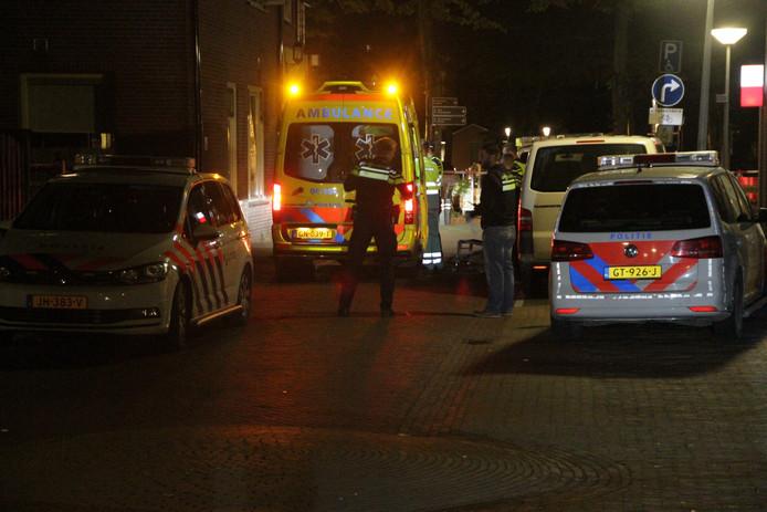 Een man raakte gewond in Putten.
